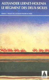 Le regiment des deux-siciles - Intérieur - Format classique