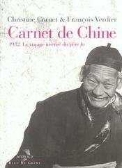 Carnet de chine 1932 : le voyage insense du pere jo - Intérieur - Format classique