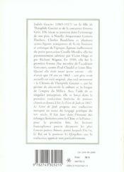 Le Livre De Jade - 4ème de couverture - Format classique
