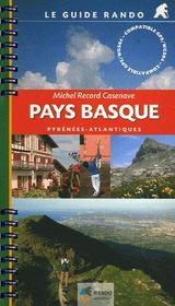 Guide Rando Pays Basque - Intérieur - Format classique