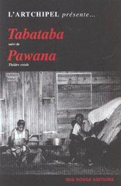 Tabataba. Suivi De Pawana - Intérieur - Format classique