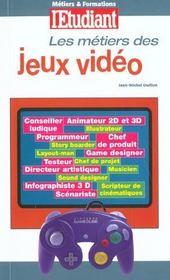 Metiers Et Formations Jeux Video - Intérieur - Format classique