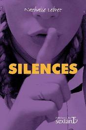Silences - Couverture - Format classique