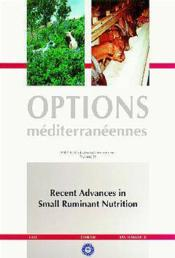 Recent advances in small ruminant nutrition ; options mediterraneennes serie a seminaires mediterranee - Couverture - Format classique