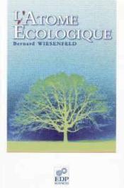 L'atome écologique - Couverture - Format classique