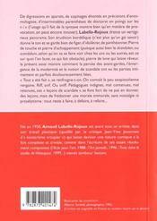Lecons De Scandale - 4ème de couverture - Format classique