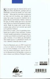 Cheminot (Le) Suivi De Lettre D'Amour - 4ème de couverture - Format classique