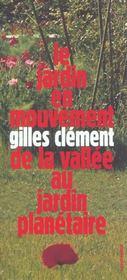 Le jardin en mouvement - Intérieur - Format classique
