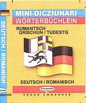 Romanche-allemand (mini dico) - Intérieur - Format classique