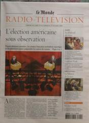 Presse monde radio television le n 18583 du 24 10 2004 - Le plafond de verre yamina benguigui ...