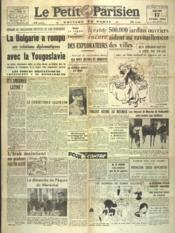 Petit Parisien Edition De Paris (Le) du 17/04/1941 - Couverture - Format classique
