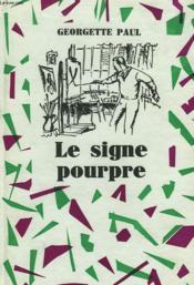 Le Signe Pourpre - Couverture - Format classique