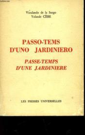 Passo-Tems D'Uno Jardiniero - Passe-Temps D'Une Jardiniere - Couverture - Format classique