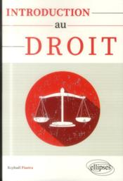 Vente livre :  Introduction au droit  - Raphael Piastra