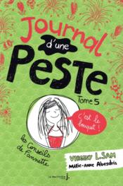 Journal d'une peste T.5 ; c'est le bouquet !  - Virginy L. Sam - Marie-Anne Abesdris