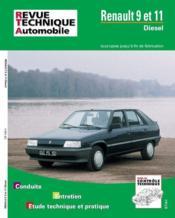 Rta 439.4 Renault 9 Et 11 Diesel (1983/1989) - Couverture - Format classique