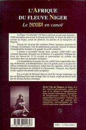 L'Afrique Du Fleuve Niger ; Le Dioliba En Canoe - 4ème de couverture - Format classique