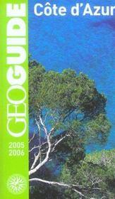 Geoguide ; Cote D'Azur - Intérieur - Format classique