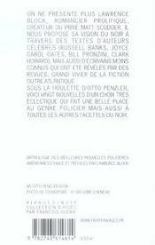 Moisson Noire (2002) - 4ème de couverture - Format classique