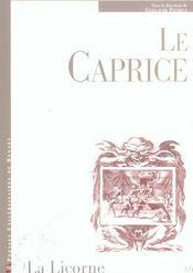 Caprice - Intérieur - Format classique
