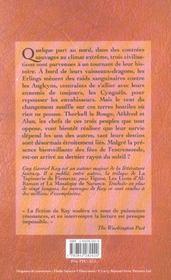 Le Dernier Rayon Du Soleil - 4ème de couverture - Format classique