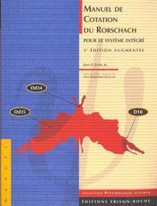 Manuel de cotation du rorschach - Intérieur - Format classique