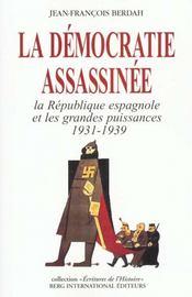 La Democratie Assassinee - Intérieur - Format classique