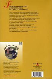 Le jardin de Fred - 4ème de couverture - Format classique