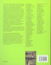 Dictionnaire des paysagistes d'aujourd'h - 4ème de couverture - Format classique