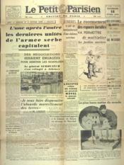 Petit Parisien Edition De Paris (Le) du 18/04/1941 - Couverture - Format classique