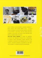 À la table des designers ; rendez-vous intimes et gourmands + 35 recettes - 4ème de couverture - Format classique