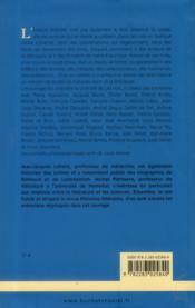 Aventures littéraires - 4ème de couverture - Format classique