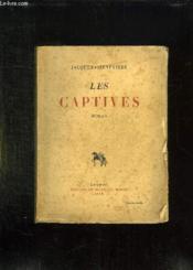 Les Captives. - Couverture - Format classique