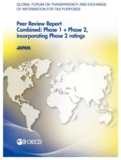 Vente livre :  Global Forum on Transparency and Exchange of Information for Tax Purposes Peer Reviews: Japan 2013  - Ocde