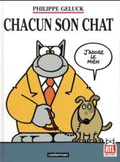 Vente livre :  Le Chat T.21 ; chacun son chat  - Philippe Geluck