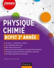 Vente  Physique-chimie ; BCPST 2e année  - Isabelle Bruand