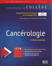 Vente  College nationale de cancerologie  - College Francais
