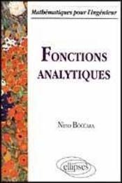 Fonctions Analytiques - Intérieur - Format classique
