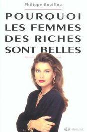 Pourquoi Les Femmes Des Riches Sont Belles Programmation Genetique Et Competition Sexuelle. - Intérieur - Format classique