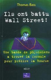 Ils Ont Battu Wall Street - Intérieur - Format classique