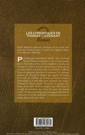 Les chroniques de Thomas Covenant t.2 ; la retraite maudite - 4ème de couverture - Format classique