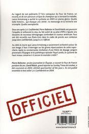 L.a. officiel - 4ème de couverture - Format classique