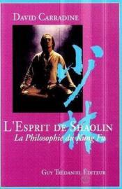 L'Esprit Du Shaolin - Couverture - Format classique