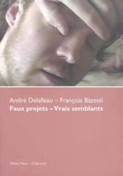 Faux Projets-Vrais Semblants - Couverture - Format classique