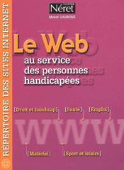 Le web au service des personnes handicapées - Couverture - Format classique