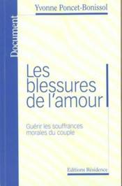 Les Blessures De L'Amour - Couverture - Format classique