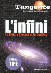 L'infini ; le fini le discret le continu - Intérieur - Format classique