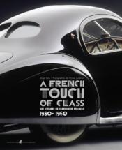 Les carossiers fran?ais 1930-1960 - Couverture - Format classique