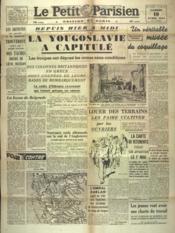 Petit Parisien Edition De Paris (Le) du 19/04/1941 - Couverture - Format classique