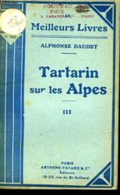 Tartarin Sur Les Alpes - Couverture - Format classique